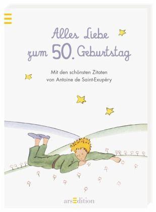 alles liebe zum 50. geburtstag von antoine de saint