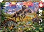 Zusammenkunft der Dinosaurier (Puzzle)