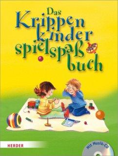 Das Krippenkinderspielspaßbuch - Singerhoff, Lorelies; Stiefenhofer, Martin