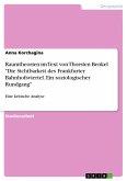 Raumtheorien im Text von Thorsten Benkel