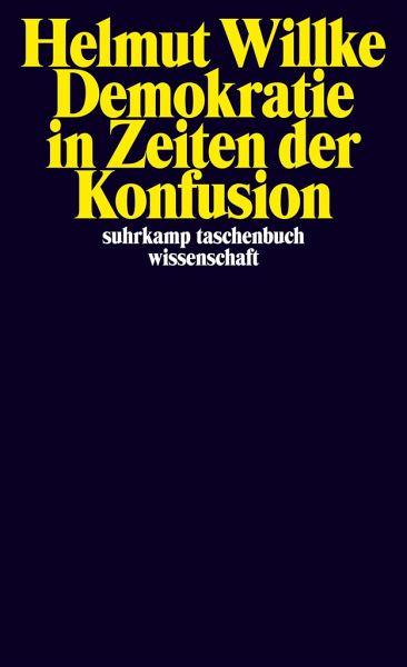 Demokratie in Zeiten der Konfusion - Willke, Helmut