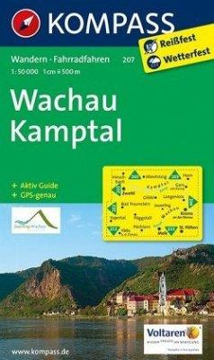 Kompass Karte Wachau, Kamptal