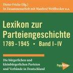 Lexikon zur Parteiengeschichte 1789-1945, 1 CD-ROM. Bd.1-4