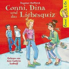 Conni, Dina und das Liebesquiz / Conni & Co Bd.10 (2 Audio-CDs)