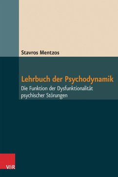 Lehrbuch der Psychodynamik (eBook, ePUB) - Mentzos, Stavros