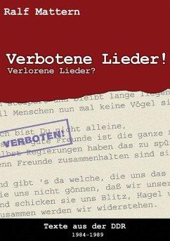 Verbotene Lieder! Verlorene Lieder? (eBook, ePUB)