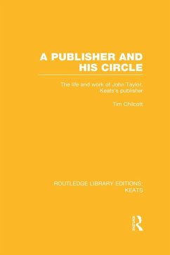 A Publisher and his Circle (eBook, ePUB) - Chilcott, Tim