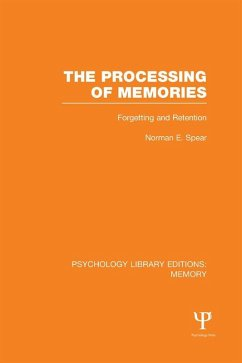 The Processing of Memories (PLE: Memory)