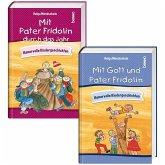 'Mit Gott und Pater Fridolin' und 'Mit Pater Fridolin durch das Jahr'. 2er Set