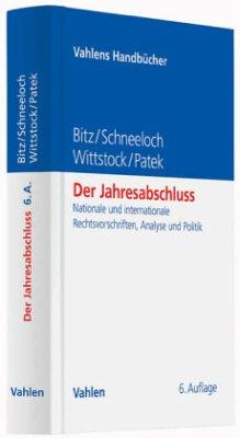 Der Jahresabschluss - Bitz, Michael; Schneeloch, Dieter; Wittstock, Wilfried; Patek, Guido