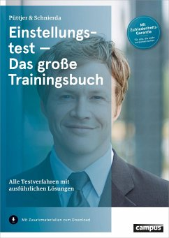 Einstellungstest - Das große Trainingsbuch - Püttjer, Christian; Schnierda, Uwe