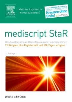 mediscript StaR Skripten-Paket Hammerexamen mit Registerheft - Angstwurm, Matthias; Kia, Thomas