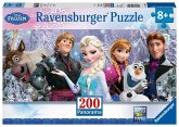 Ravensburger 12801 - Disney Frozen: Arendelle im ewigen Eis, 200 Teile Panorama-Puzzle