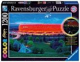 Ravensburger 16187 - Allianz Arena, 1200 Teile Color Starline Puzzle
