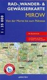 Rad-, Wander- & Gewässerkarte Mirow