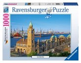 Ravensburger 19457 - Hamburg, 1000 Teile Puzzle