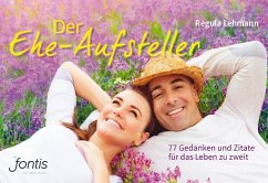 Der Ehe-Aufsteller - Lehmann, Regula
