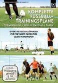 Komplette Fußball - Trainingspläne - Torabschluß + Spielgestaltung + Taktik