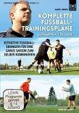 Komplette Fußball - Trainingspläne - Aufwärmen + Technik