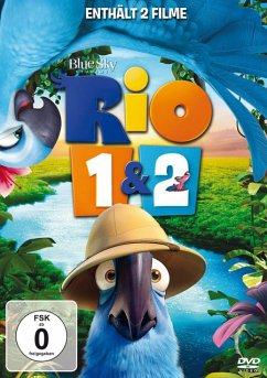 Rio 1&2 - 2 Disc DVD