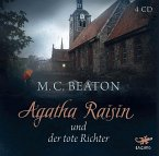 Agatha Raisin und der tote Richter / Agatha Raisin Bd.1 (Audio-CD)