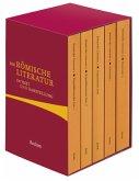 Die römische Literatur in Text und Darstellung. Fünf Bände in Kassette