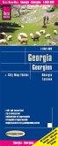 Reise Know-How Landkarte Georgien; Georgia / Géorgi