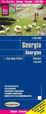 World Mapping Project Georgien; Georgia / Géorgi