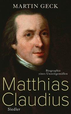 Matthias Claudius (eBook, ePUB) - Geck, Martin