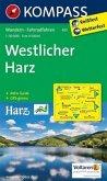 Kompass Karte Westlicher Harz