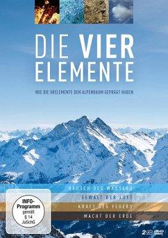 Die vier Elemente - Wie die Urelemente den Alpenraum geprägt haben - Span,Norbert