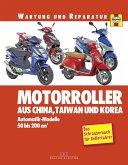 Motorroller aus China, Taiwan und Korea