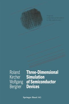 Three-Dimensional Simulation of Semiconductor Devices