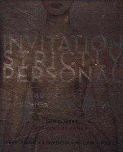 Invitation Strictly Personal - Webb, Iain R.