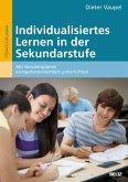 Individualisiertes Lernen in der Sekundarstufe (eBook, PDF)
