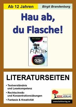 Hau ab, du Flasche! - Literaturseiten (eBook, PDF) - Brandenburg, Birgit