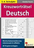 Kreuzworträtsel Deutsch 3.-4. Schuljahr (eBook, PDF)