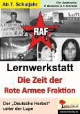 Lernwerkstatt Die Zeit der RAF (eBook, PDF)