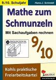 Mathe zum Schmunzeln - Sachaufgaben, 9.-10. Schuljahr (eBook, PDF)