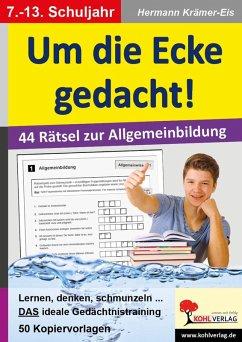 Um die Ecke gedacht! (eBook, PDF) - Krämer-Eis, Hermann