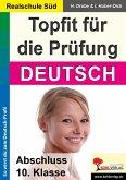 Topfit für die Prüfung / Deutsch (Realschule) (eBook, PDF)