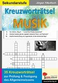 Kreuzworträtsel Musik (eBook, PDF)