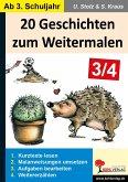 20 Geschichten zum Weitermalen - Band 2 (3./4. Schuljahr) (eBook, PDF)