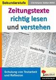 Zeitungstexte richtig lesen und verstehen (eBook, PDF)
