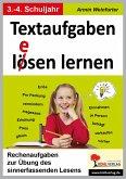 Textaufgaben l(e)ösen lernen, 3.-4. Schuljahr (eBook, PDF)
