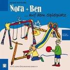 Nora und Ben auf dem Spielplatz