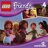 Ein Wochenende auf dem Bauernhof / LEGO Friends Bd.4, 4 Audio-CDs