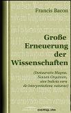 Große Erneuerung der Wissenschaften (eBook, ePUB)
