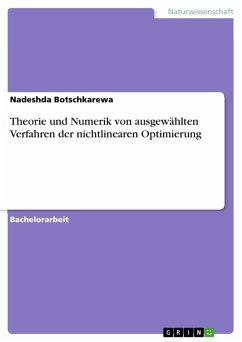 Theorie und Numerik von ausgewählten Verfahren der nichtlinearen Optimierung (eBook, PDF)