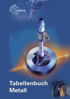 9783808517260 - Lektorat: Gomeringer, Roland: Tabellenbuch Metall, mit Formelsammlung - Buch